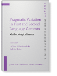 Pragmatic Variation in First and Second Language Contexts: Methodological Issues